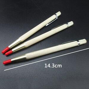 Одна ручка из карбида вольфрама, травление гравировка ручка для маркировки ювелирных изделий, металлические инструменты для письма, ручной...