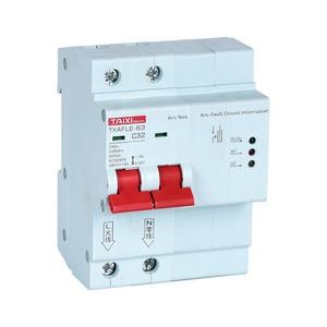 Image 2 - AFCI Arc Fault Circuit Breaker Interrupte AFDD Arc Protector Detector 1P+N 16A 220V 110V MCB