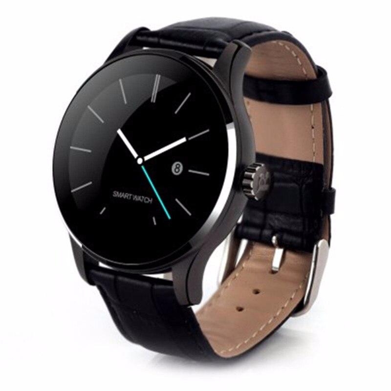 K88H Smart Watch 1.22 Inch IPS Round Screen Support Sport Heart Rate Monitor Bluetooth SmartWatch For IOS AndroidK88H Smart Watch 1.22 Inch IPS Round Screen Support Sport Heart Rate Monitor Bluetooth SmartWatch For IOS Android