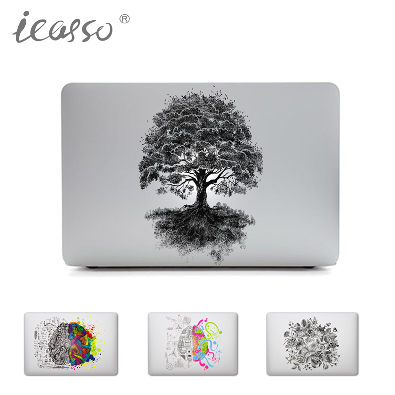 iCasso Unique Removable Vinyl Laptop Skin Sticker Protective for Macbook Air Pro Retina 11 13 15 Inch Skin MacBook case sticker 2016 outdoor inflatable igloo tent white inflatable shell tent inflatable air dome bingo factory direct sale bg a1191 toy tent