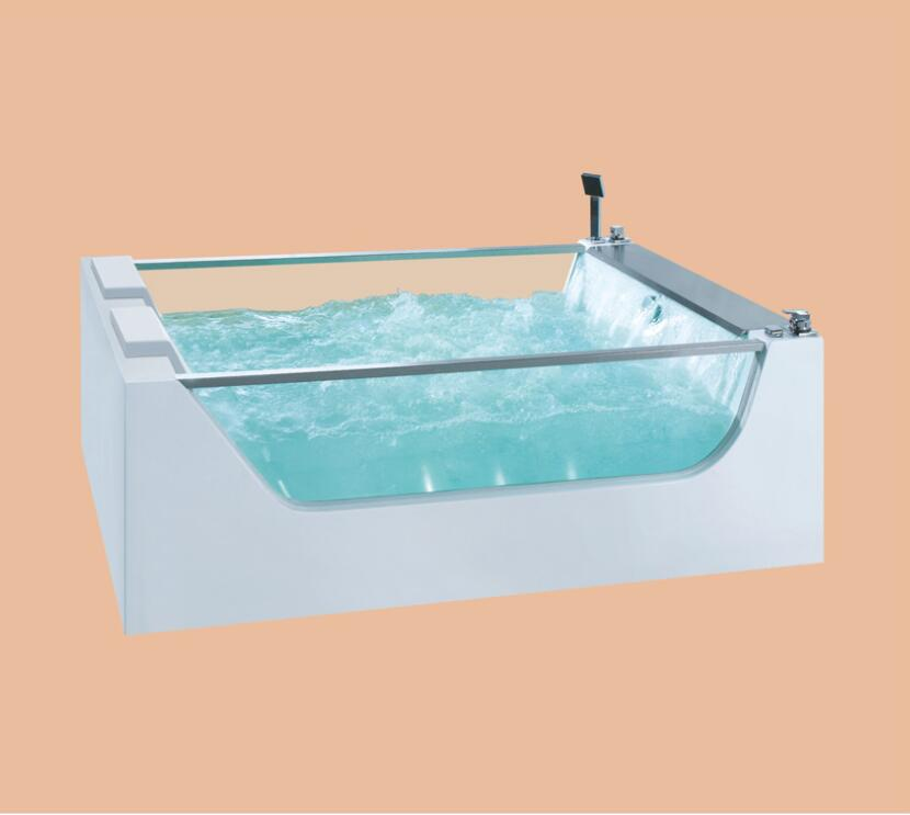 Fiberglass whirlpool Bathtub Acrylic With ABS composite board Piscine massage Waterfall Tub NS3030