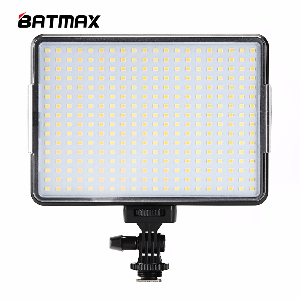 New 320 LED Led Video Camera Light Bi color Temperature Adjustable 3200K 5600K Photography DSLR Photo