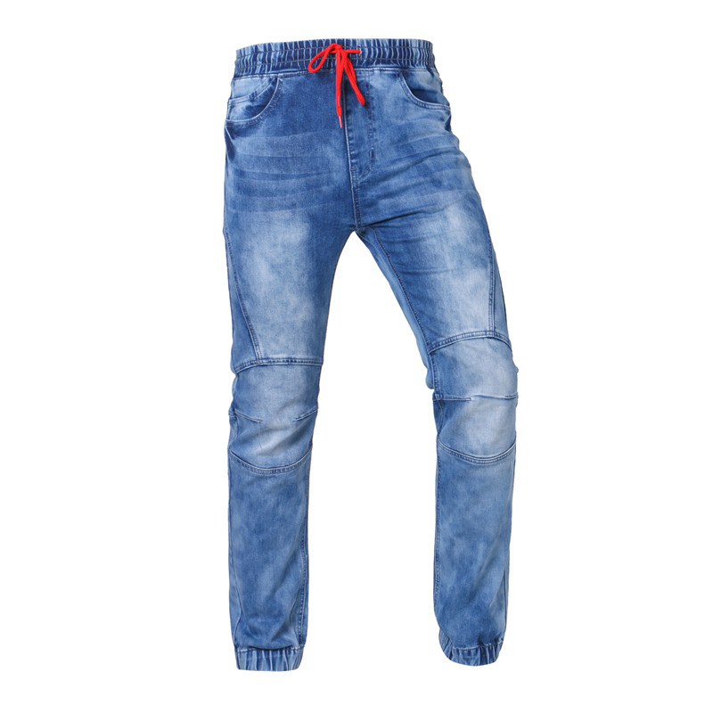 Mens Jeans Stretch Business Casual Denim Pants Long Trousers Gentleman Cowboys By CT&HF