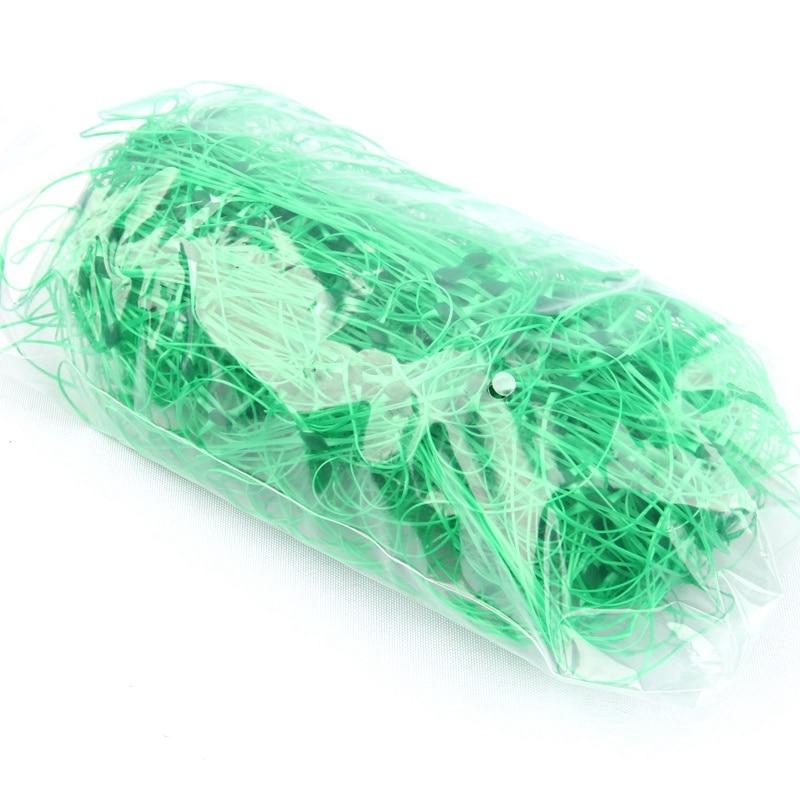 1pc Mesh 10*10cm Durable Plastic Net Climbing Plants Net Support Yam Vine Bracket Towel Gourd Climb Net Fence 3 Size For Choose