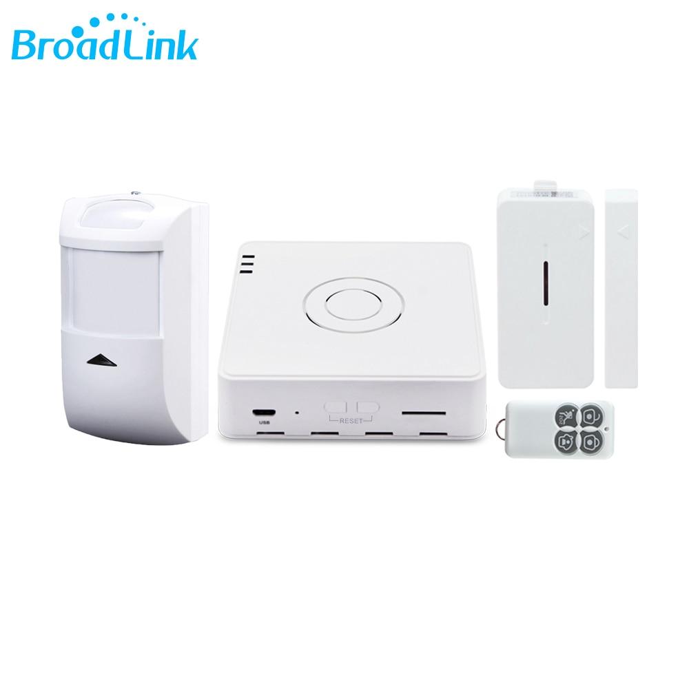 original broadlink 2017 new smart home kits motion door window sensor 433mhz wireless control by. Black Bedroom Furniture Sets. Home Design Ideas