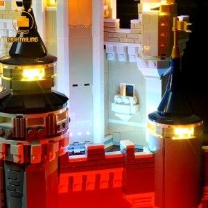 Image 5 - LIGHTAILING 크리 에이 티브 시리즈에 대 한 LED 라이트 키트 신데렐라 공주 성 모델 조명 세트 71040 16008 호환