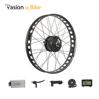 PASION E BIKE 48V 500W 750W Electric Bicycle Conversion Kit 26 Fat Bike Rear Wheel Motor BAFANG Hub Motor Conversion Kits