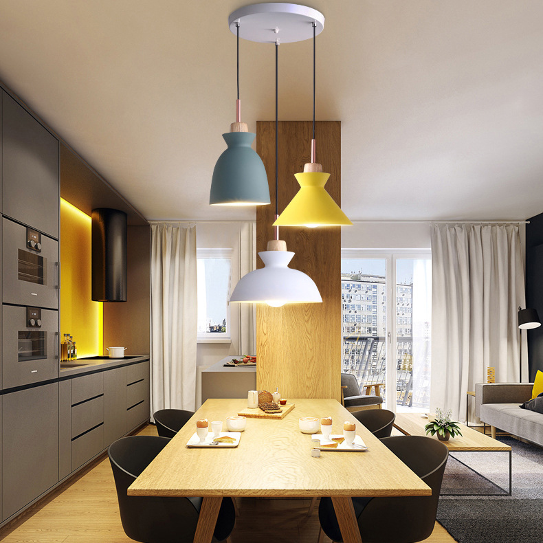 Simple Modern Loft Led Chandelier Creative Personality Dining Room Bar Bedroom Living Room Table L Office Nordic DroplightSimple Modern Loft Led Chandelier Creative Personality Dining Room Bar Bedroom Living Room Table L Office Nordic Droplight
