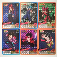 55pcs/set Super Dragon Ball Single Card Heroes Battle Ultra Instinct Goku Vegeta Game Collection Anime Cards