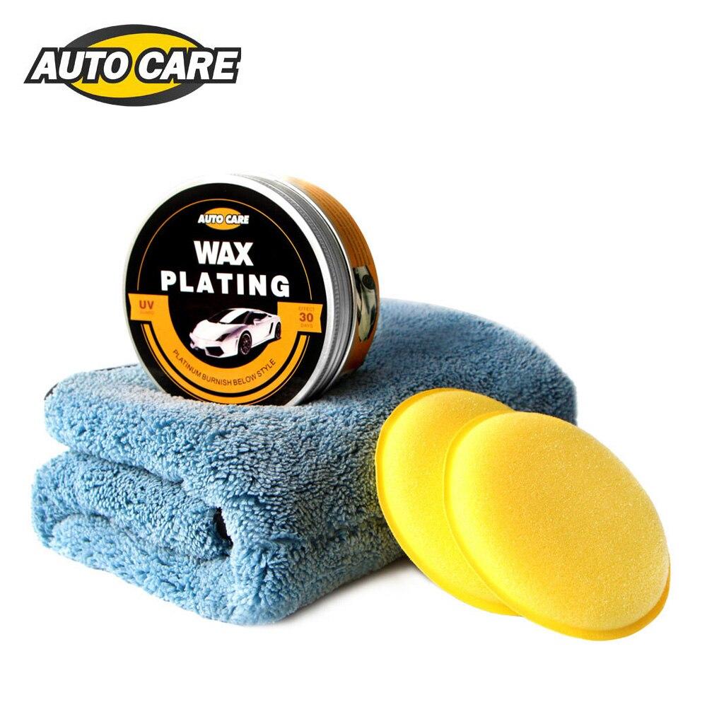 AutoCare Auto Wachs Cystal Plating Set Harte glänzend wachs schicht, die die farbe oberfläche beschichtung formel Super wasserdichte film