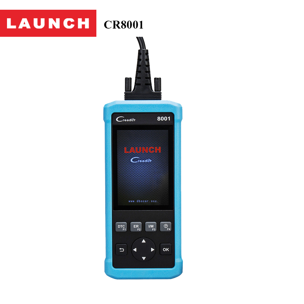 2017 Launch Automotive Scanner CReader 8001 with ABS SRS ECU Coverage Oil EPB reset Prints data