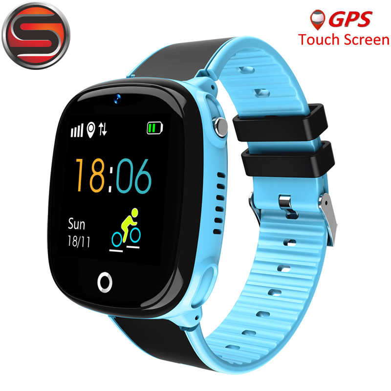 SK07 Anti Lost Child Watch GPS Tracker SOS Smart Monitoring Positioning Phone IP67 waterproof Kids GPS Watch For IOS Android G53