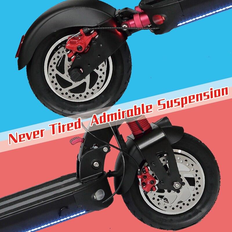 Macury GRACE10 scooter électrique GRACE 10 hoverboard planche à roulettes 2 roues 10 pouces 52V1000W adulte zéro 10 mini pliable ZERO10 - 5