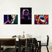 Movie Batman Superhero DC Comic Character Color Art Portrait Canvas Painting Print Poster Picture Wall Elegant Home Decoration