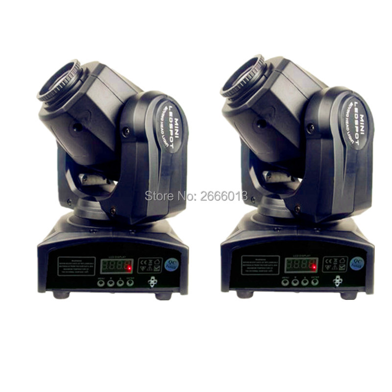2pcs/lot High brightness 30W LED spot moving head light DMX512 dj 8 gobos LED patterns effect stage light/ktv bar disco led lamp 4pcs lot 30w led gobo moving head light led spot light ktv disco dj lighting dmx512 stage effect lights 30w led patterns lamp