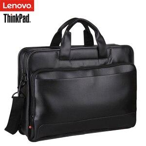 Image 3 - Original Lenovo ThinkPad Laptop Tasche TL410 Business Aktentasche Schulter taschen 15,6 zoll Und Unten