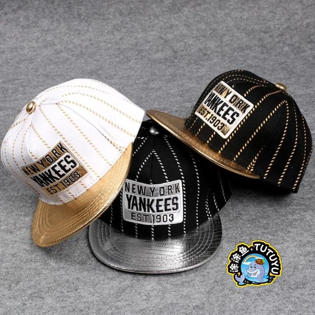 Retail Unisex Boy Baseball Caps Kid Letter Snapback Caps Cool