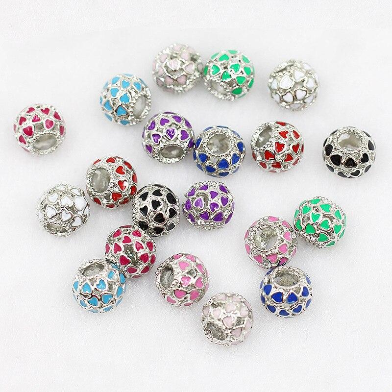 Jewelry-Accessories Bracelet Dora-Style Heart-Drops Wholesale Oil-Hollow-Ball Bronze