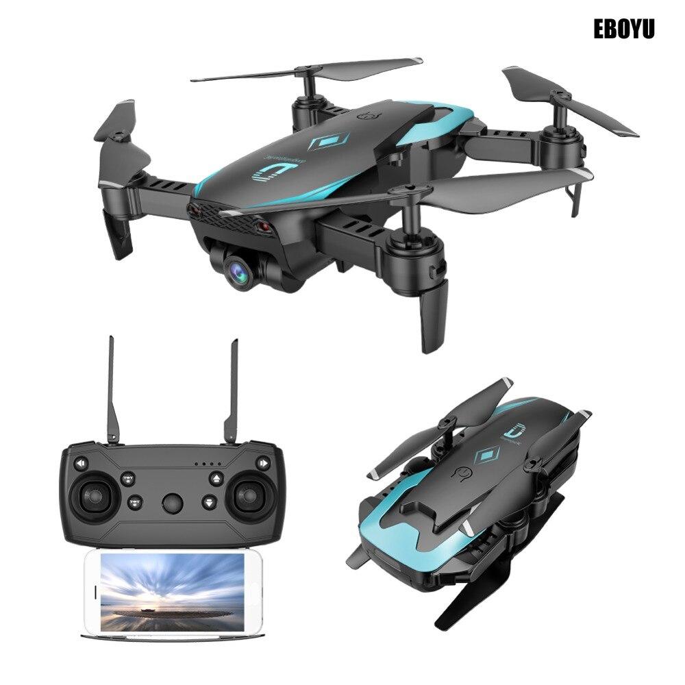 Drone pliable EBOYU X12 2.4 Ghz Wifi FPV avec caméra grand Angle 2.0MP à une clé-maintien de l'altitude de retour Mode sans tête Drone quadrirotor RC