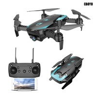 EBOYU X12 2.4Ghz Wifi FPV Foldable Drone w/ 2.0MP Wide Angle Cam One Key Return Altitude Hold Headless Mode RC Quadcopter Drone