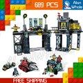 689 unids sy513 nuevo capitán américa iron man la baticueva bloque set winter soldier diy bloques de construcción de juguetes compatible con lego