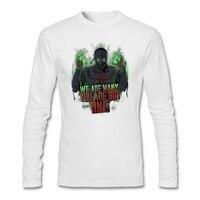 Long Sleeve Korean Mortal Kombat Tee Shirts Men S White Camisa 3D Print Ermac T Shirt