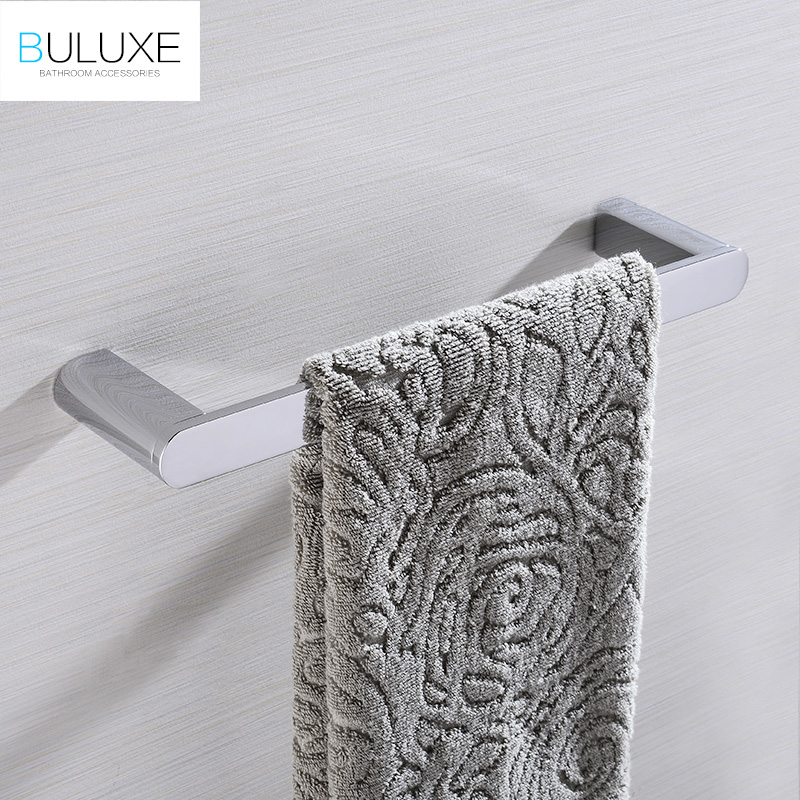 BULUXE Brass Bathroom Accessories Towel Rack Holder Rings Chrome Finished Wall Mounted Bath Acessorios de banheiro HP7741 кроссовки nike flex 2015 rn msl 724933 004 600 008 402
