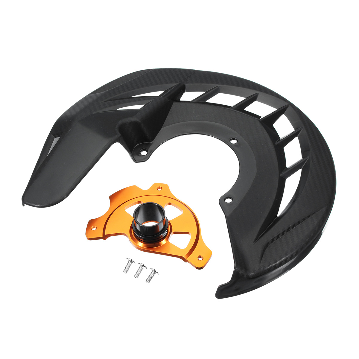 Motorcycle Front Brake Disc Rotor Guard Brake Cover Brake Protector For KTM 125-530 SX/SXF/XC/XCF 03-14 125-530 EXC/EXCF 03-15 cnc motorcycle billet rear brake disc guard for ktm 125 530 exc exc f xc w xcf w 04 15 for husaberg te 125 250 300 2011 2014 d25