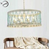 Modern Nordic stone pendant light LED E14 loft art deco vintage Nordic hanging lamp for living room bedroom restaurant bar hotel