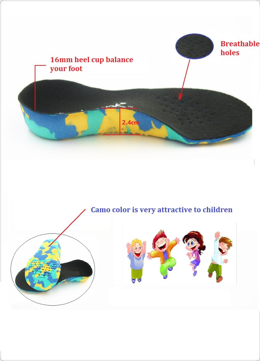fromUfoot Kid's EVA Arch Support X-Legs Flat Foot Orthotics and Children Polio Patients Orthopedic Insoles Foot Care electric antistress therapy rollers shiatsu kneading foot legs arms massager vibrator foot massage machine foot care device hot