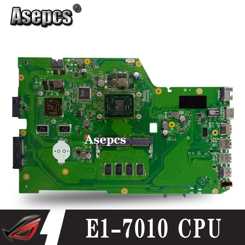 X751YI Laptop motherboard For ASUS X751Y X751YI K751Y Mainboard   2GB Graphics card  2G RAM /E1-7010 CPUX751YI Laptop motherboard For ASUS X751Y X751YI K751Y Mainboard   2GB Graphics card  2G RAM /E1-7010 CPU