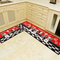 Anti-slip Wasser Absorption Fußmatte Außen Lustige Fußmatte Teppich Für Küche Bad Wc Tapete Teppich Veranda Tür Matte