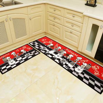 Antypoślizgowa absorpcja wody wycieraczka zewnętrzna śmieszna wycieraczka dywan do kuchni toaleta wc Tapete dywan ganek wycieraczka do butów tanie i dobre opinie NAI YUE CN (pochodzenie) Kitchen Dorosłych Anti-Slip Kilim Zakończył dywan (szt) GEOMETRIC PRINTED Koreański floor mat