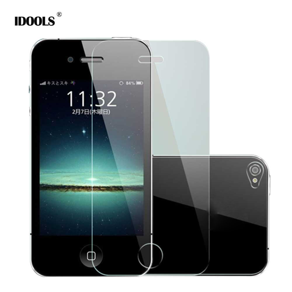 for iPhone 5 5S SE 4 4S Tempered Glass 9H Premium Protective Film Mobile Phone Accessories Screen Protectors for iPhone 5 5S 4 4