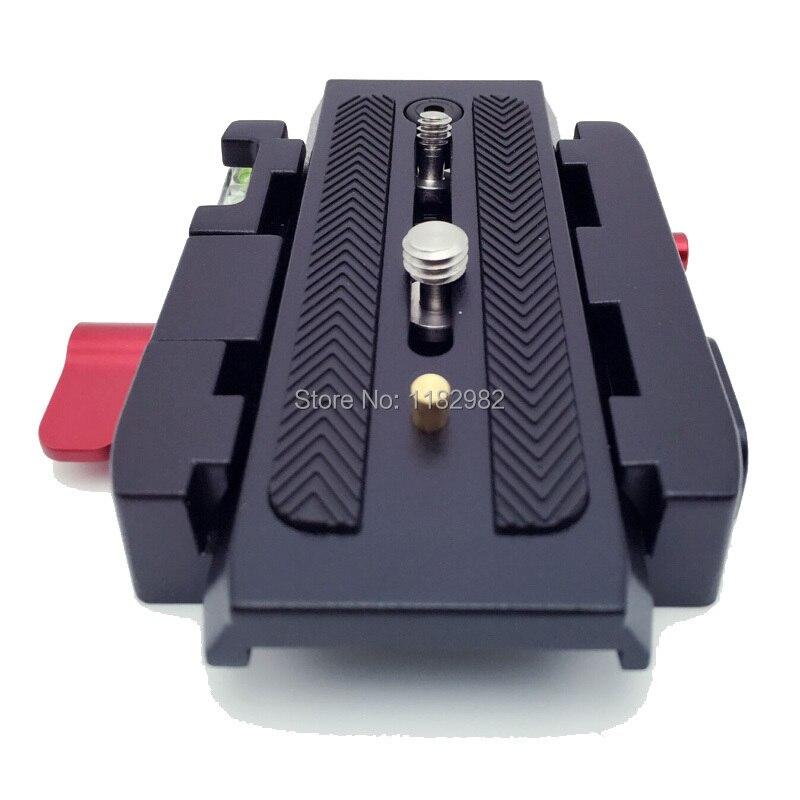 Camera Tripod Monopod P200 QR Aluminium Alloy Clamp Adapter+Quick Release Plate for Canon for nikon Manfrotto 501 500AH 701HDV
