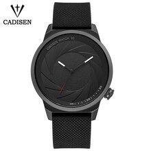 CADISEN Original Design Fotógrafo Série Marca Das Mulheres Dos Homens Unisex relógio de Pulso de Aço Esportes Moda Casual Relógio de Quartzo Criativo