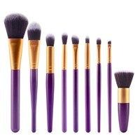 Makeup Brushes 9 Pcs 27 Color Styles Professional Soft Eye Cosmetics Beauty Make up Brushes Set Kabuki Kit Tools Maquiagem WY5