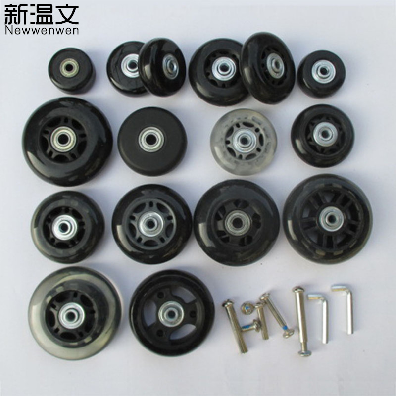 Replacement Luggage Wheels Axles Deluxe Suitcase Wheels Repair,Replacement Wheels For Luggage W5#
