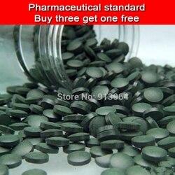 Comprar três obter um livre qualidade Exportação classe Farmacêutica Comprimido Spirulina orgânica Melhorar-imune e Anti-fatigue cerca de 400 comprimidos
