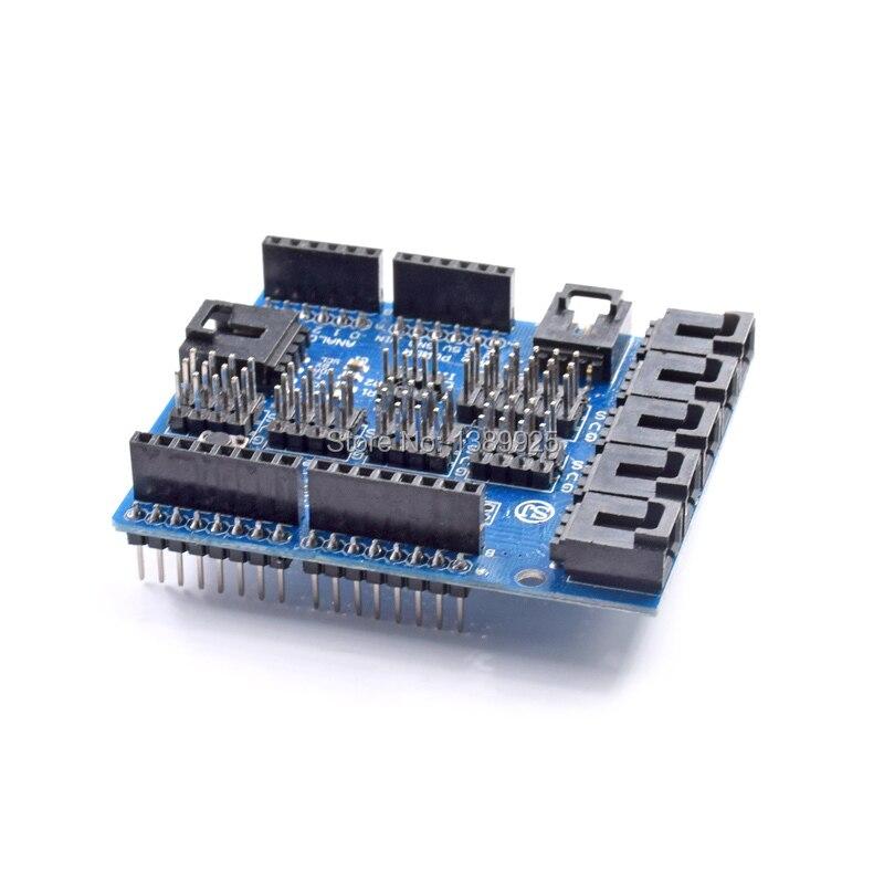 Smart font b Electronics b font 1pcs for Arduino Sensor Shield V4 0 V4 Digital Analog