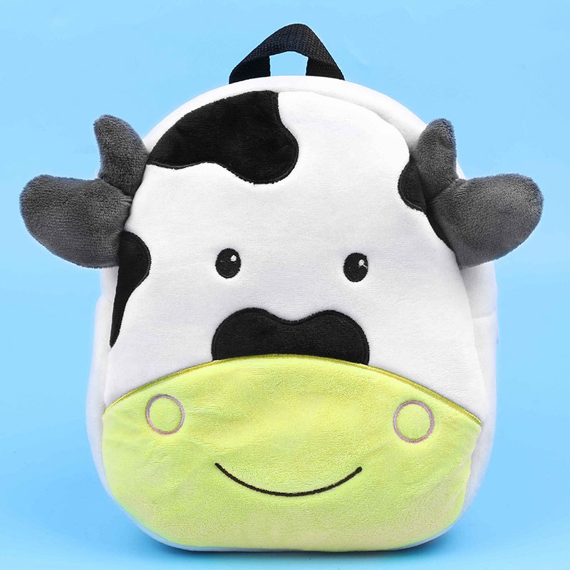 2019 New Cartoon Milk Cow School Bags For Kids Boys Fashion Animals School Backpacks For Kindergarten Girls Children Schoolbag