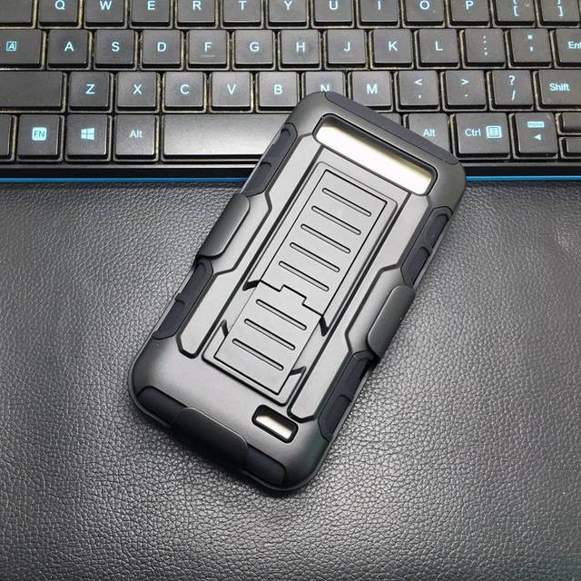 Heavy Duty Shockproof Hard Armor Case Cover For ZTE Speed N9130 Belt Clip Holster for ZTE overture 2/Z813/Z812 Silicone Case