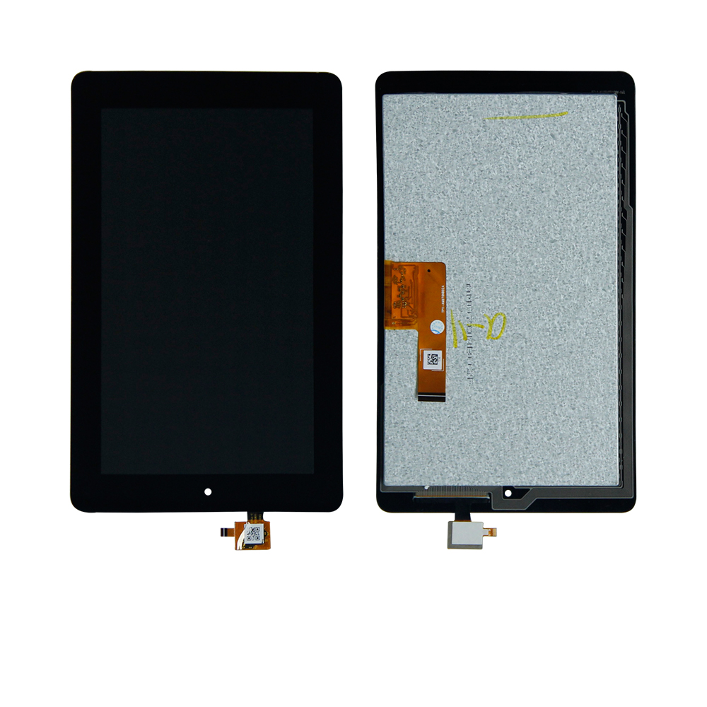 Free Shipping For Amazon Kindle Fire 7 5th 5 Gen SV98LN Touch Screen Digitizer Lcd Display Assembly Tablet panel Replacement фен elchim 3900 healthy ionic red 03073 07