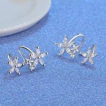 Butterfly Star Flower Stud Earring For Women