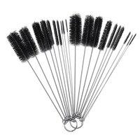 10 Pcs Nylon Bottle Tube Nozzle Brushes Cleaning Brush Kitchen Cleaner Set
