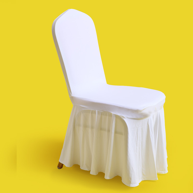 elastic event skirt chair cover banquet hotel wedding skirting chair cloth outdoor party meeting easy cover & elastic event skirt chair cover banquet hotel wedding skirting chair ...