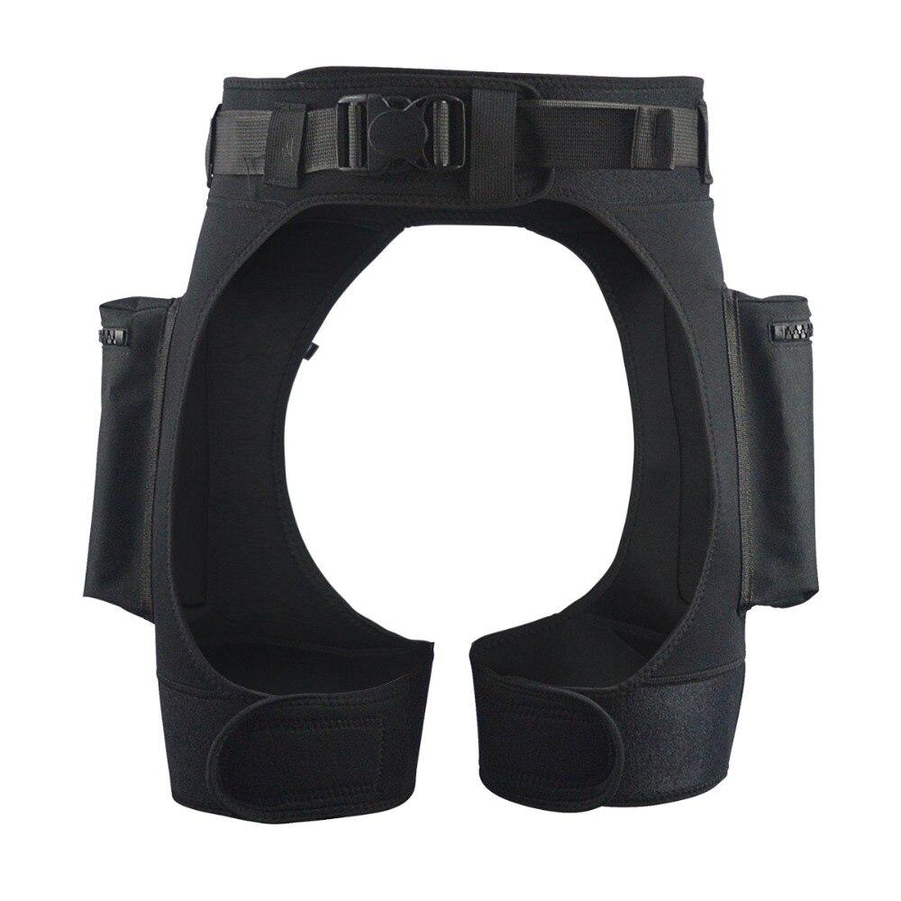 Néoprène combinaison Tech Shorts charge Submersible poids poche jambe cuisse pantalon Bandage pantalon équipement de plongée sous-marine accessoires