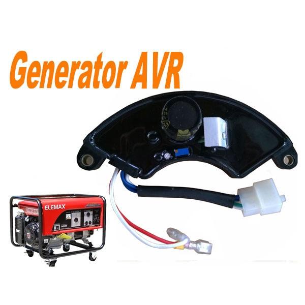 Top qualität LIHUA AVR Für 5kw Einphasig EC6500 Benzin Generator, Automatische Spannungs Regler, benzin ersatzteile TT09-2A