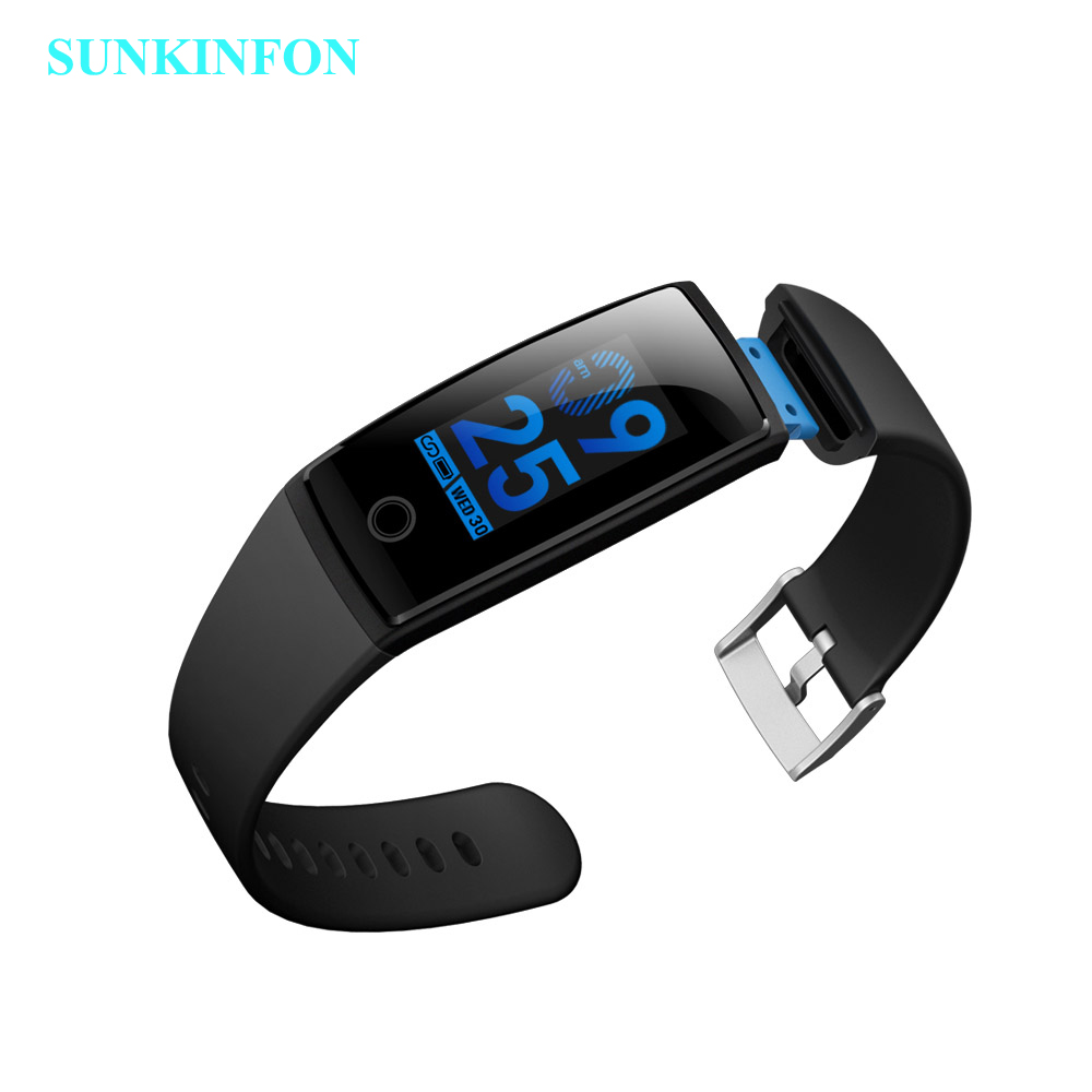 SV15 Smart Wristband Activity Tracker Heart Rate Monitor Blood Pressure Colorful Band For Samsung Galaxy A9 A8 A7 A5 A3 S8
