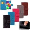 Горячая Бумажник Телефон Флип Case Крышка Отсека для Карты Держатель Чехол для Samsung GALAXY S5 Mini